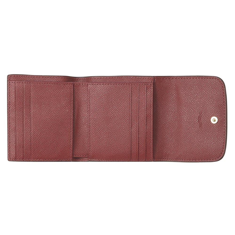 f4cfd56f5d14 Amazon   コーチ(COACH) アウトレット 2つ折り財布 F21069 IME42 メタリッククロスグレインレザー メタリックチェリー [並行輸入品]    財布
