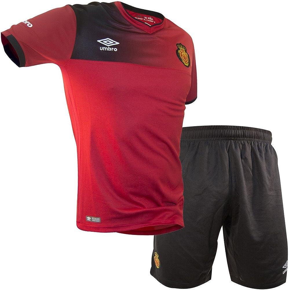 Umbro RCD Mallorca Home Conjunto de Camiseta y pantalón, Hombre ...