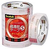 3M スリーエム スコッチ 超透明テープS 5巻 工業用包装 24mm×35m 芯76mm BK-24N