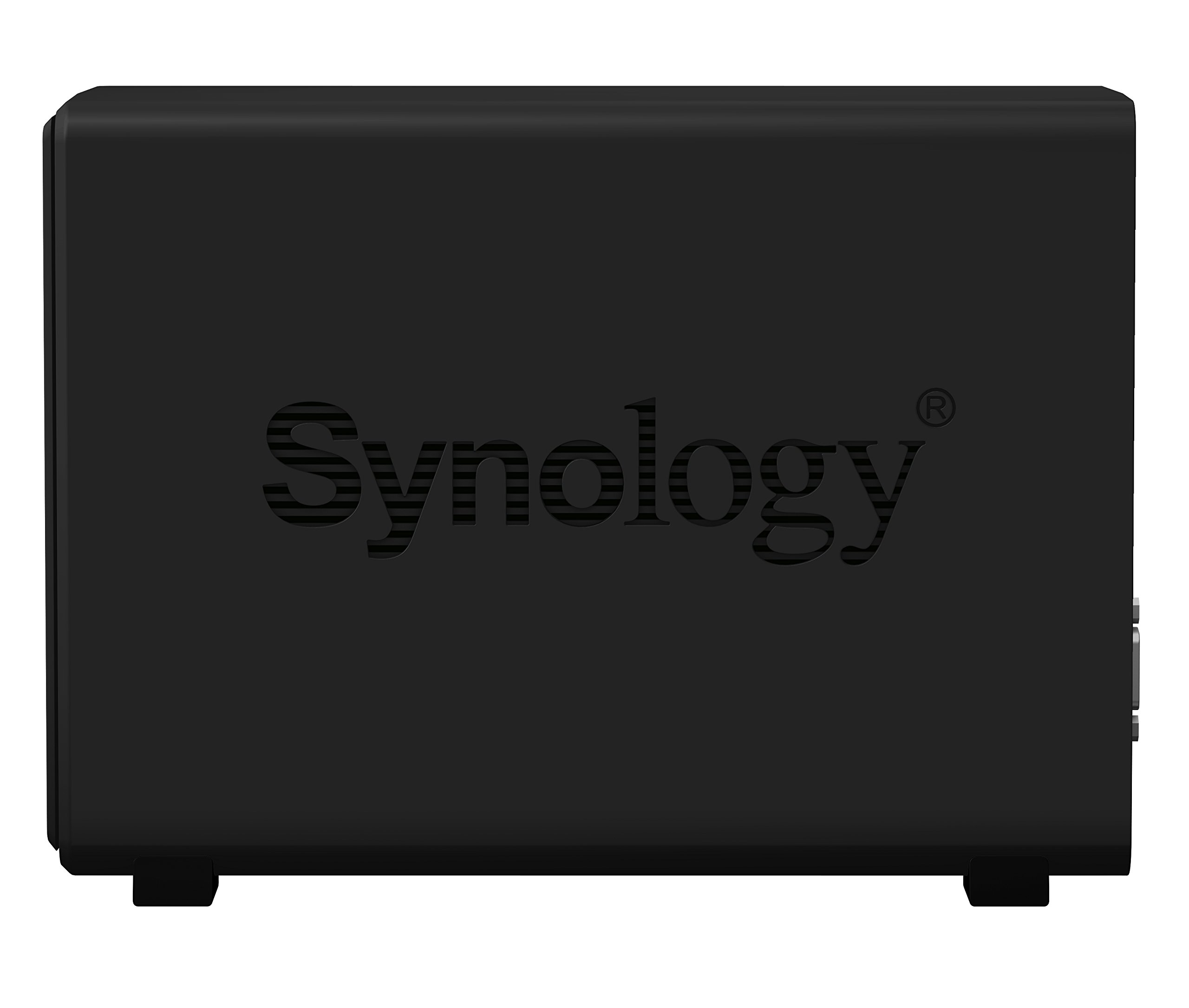 Synology 2 bay Network Video Recorder NVR1218 (Diskless) 6 Standalone surveillance solution with 1080p HDMI output Point of Sale (POS) system support combines business transaction records with surveillance recordings 4 free camera licenses included, supports up to 12 cameras