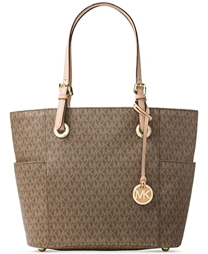 f25a172513a5 Amazon.com: MICHAEL Michael Kors Signature Jet Set East West Large Tote:  Shoes