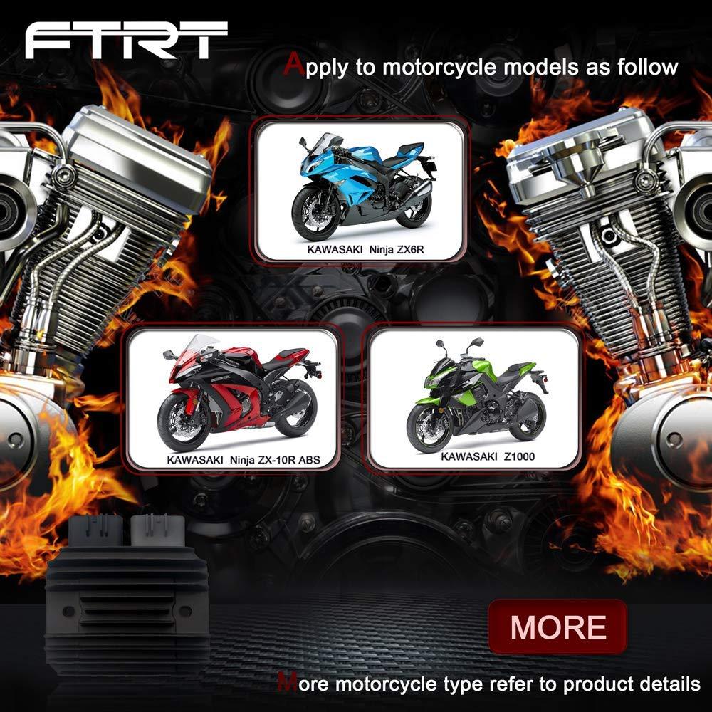 Electrical & Batteries FTRT Motorcycle Regulator Rectifier for ...