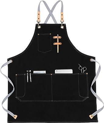 Apron Unisex parananza with Vent Long Pockets Kitchen Bar//Restaurant//Pub//