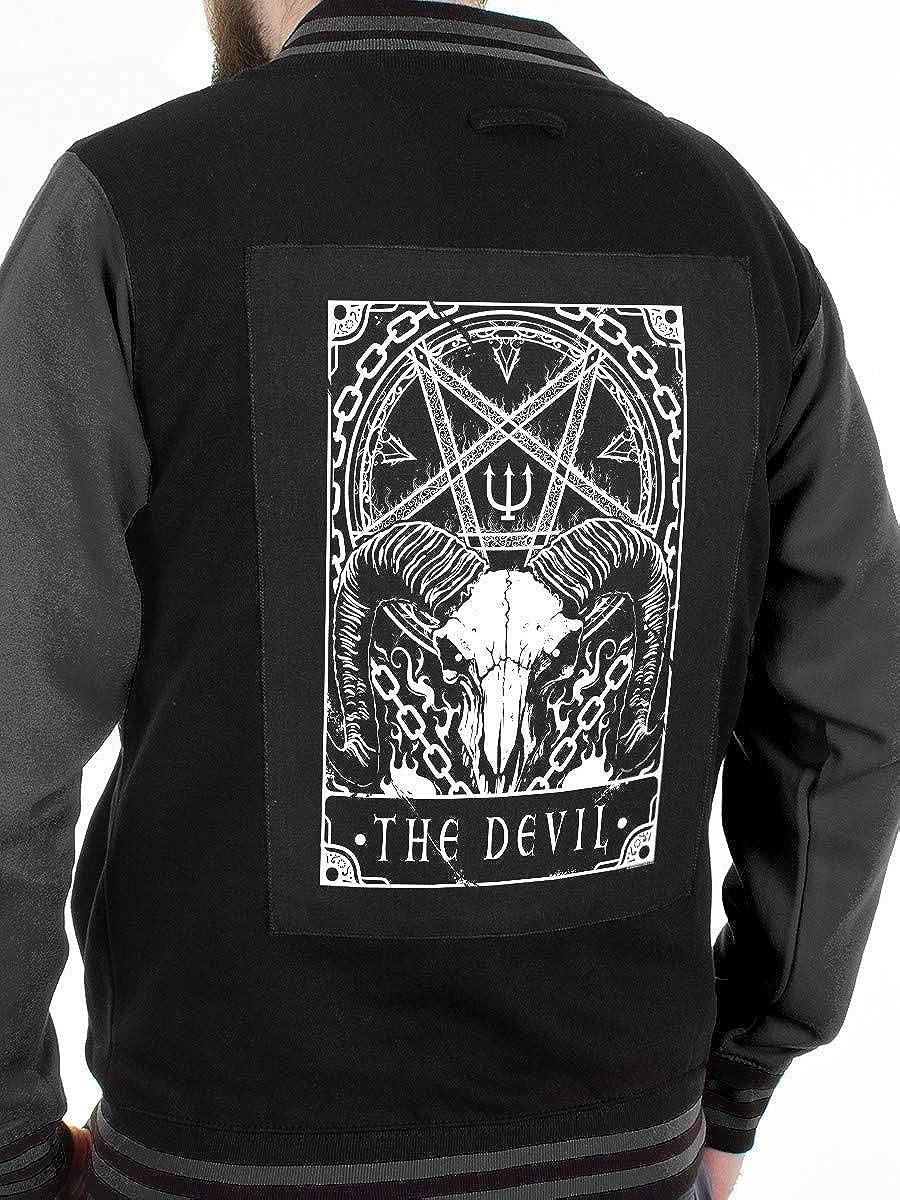 Deadly Tarot The Devil Back Patch Black 29.5x36cm