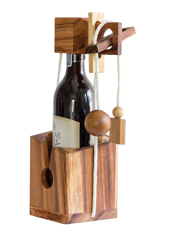 wine puzzle gift