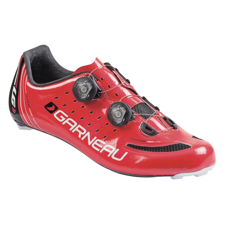 Louis Garneau Course Air Lite Road Shoe B00O83VO6Y 44|Red