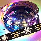 5m 150 LEDs WS2812B 5050 RGB Stripe schwarz mit WS2811 Controller
