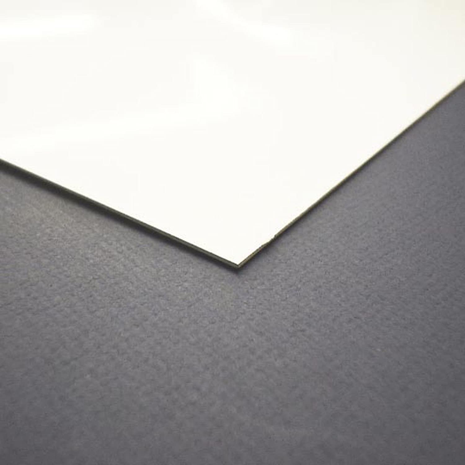 1220mm x 2440mm PVC wall cladding sheets in white satin 8/' x 4/' x 2mm thick