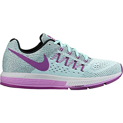 a85dceb2b57 Nike Air Zoom Vomero 10 Running Shoe - Womens Copa Black Guchsia Glow Vivid  Purple