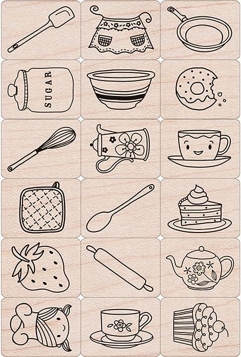 Top 10 Craft Stamp Food