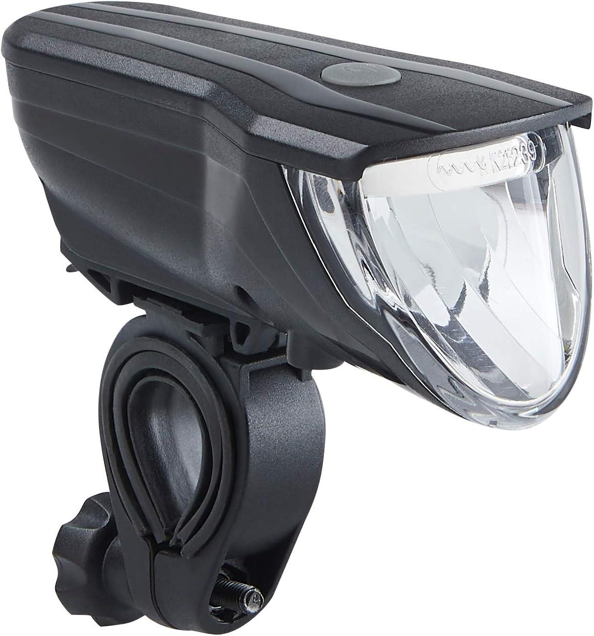 StVZO zugelassen 51227500 Fahrradbeleuchtungsset B/üchel Unisex-Adult Vancouver Pro one Size /& Vancouver Pro Silber//Schwarz 70 Lux schwarz LED Akku-Leuchten-Set 70 Lux LED Akkuleuchtenset