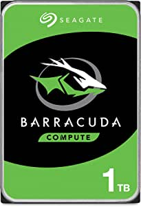 Seagate BarraCuda 1TB Internal Hard Drive HDD – 3.5 Inch SATA 6 Gb/s 7200 RPM 64MB Cache for Computer Desktop PC (ST1000DM010)