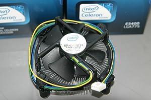 """Intel E97375-001 Socket 775 Aluminum Heat Sink & 3.5"""" Fan w/4-Pin Connector up to 65W TDP"""