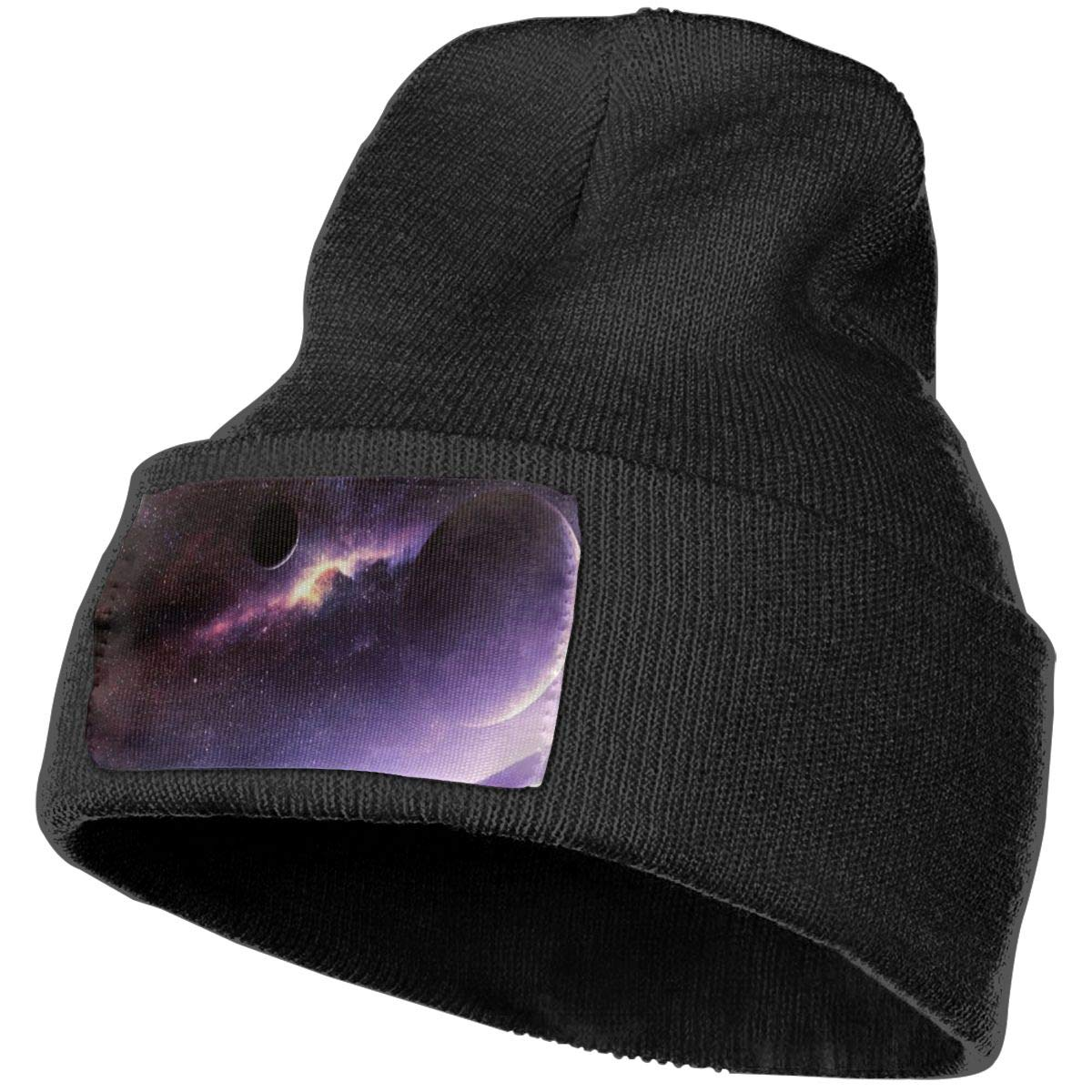 Ruin The Vast Planet Fashion Knitting Hat for Men Women 100/% Acrylic Acid Mas Beanie Hat