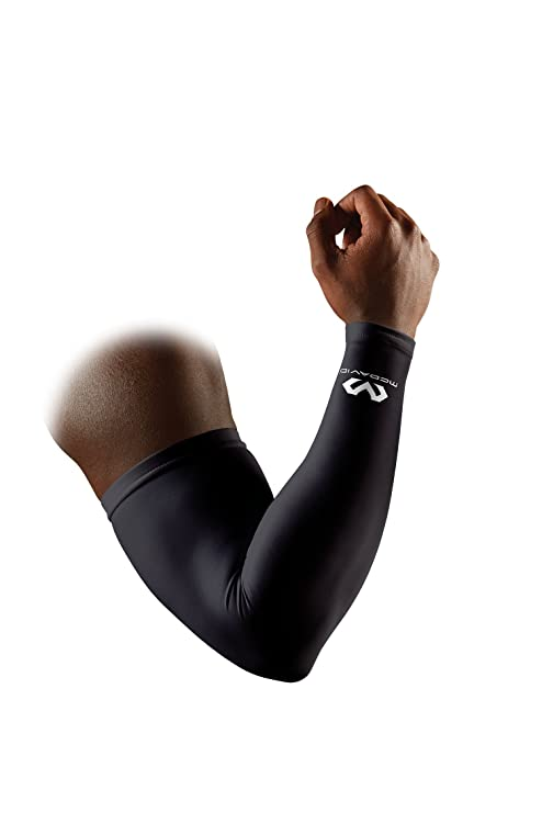 2bb167ba48 Amazon.com: McDavid Compression Arm Sleeve, 50+ UV Skin Protection ...