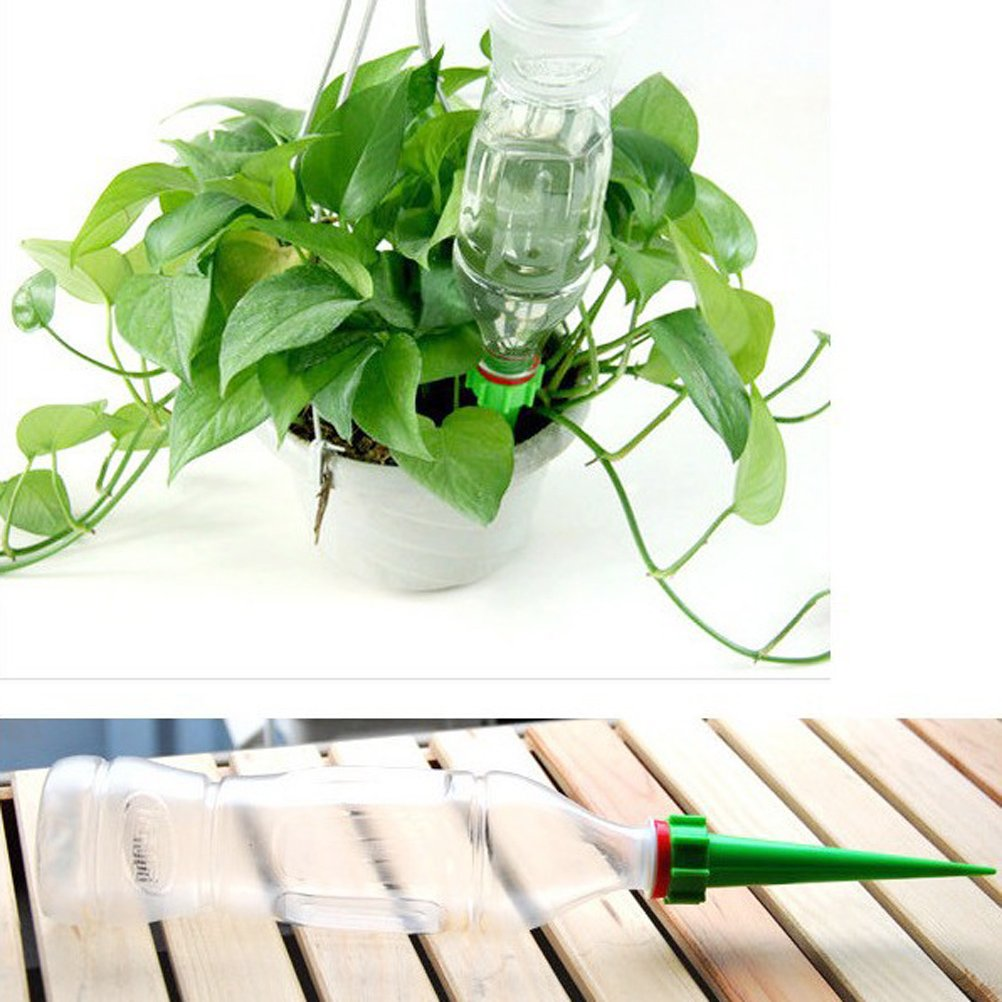 ounona Plantas Riego Botella Dispensador de agua Pipeta para vacaciones viajes 4pcs: Amazon.es: Hogar