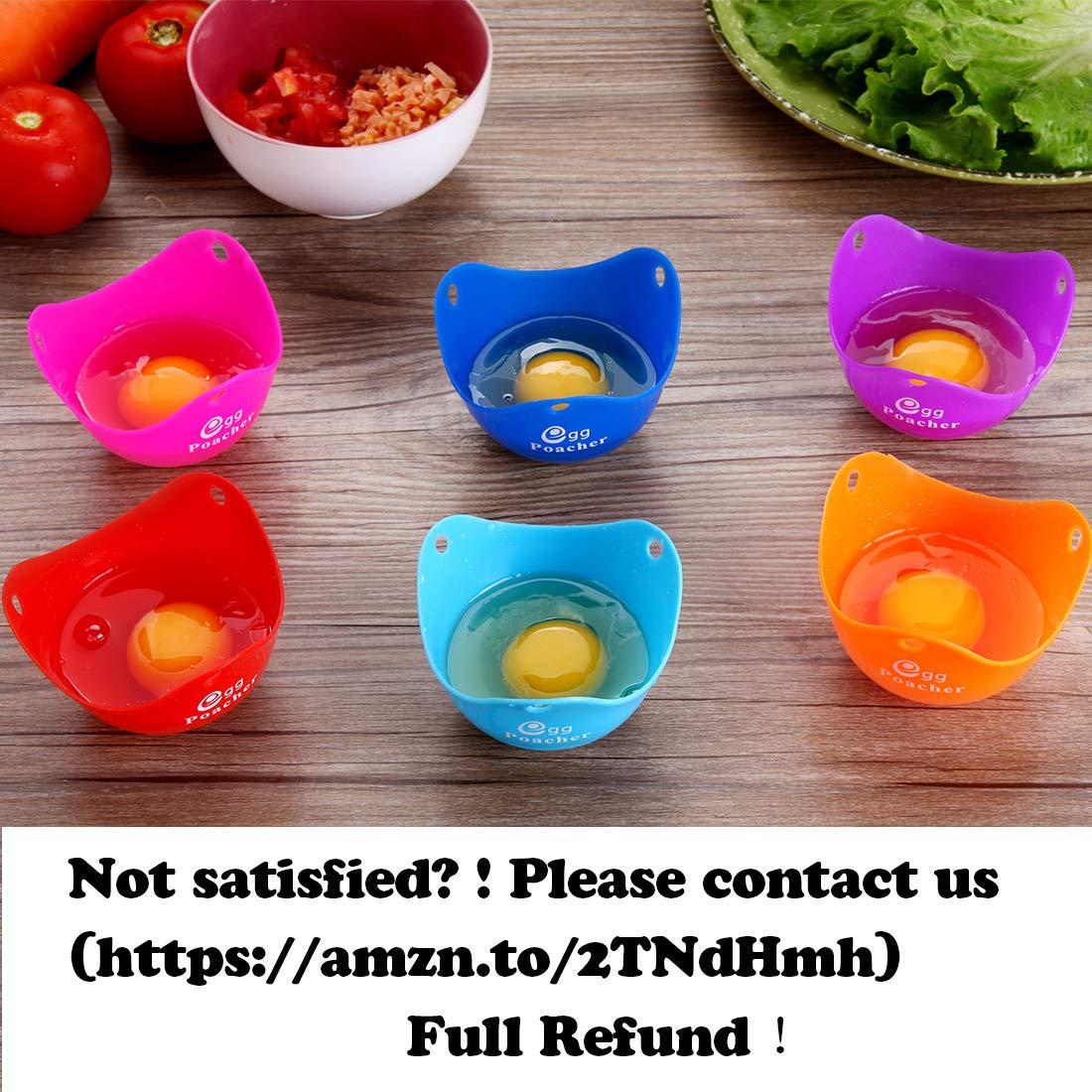 Amazon.com: Escalfador de huevos – zfitei tazas de huevos de ...