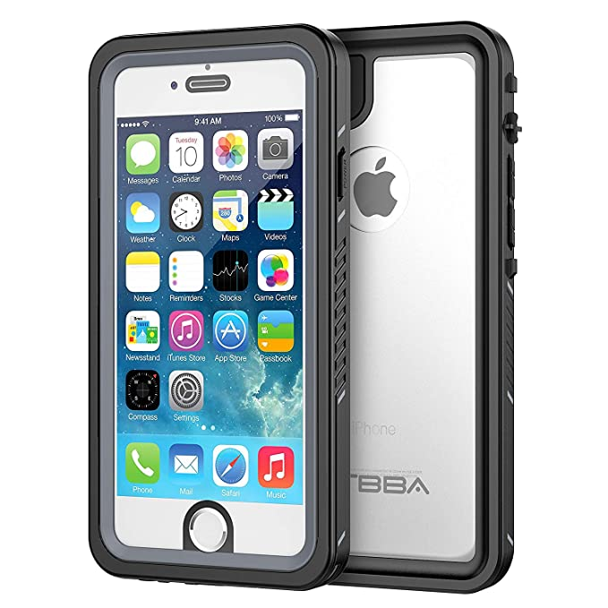 amazon com iphone 6 6s waterproof case, otbba sandproof ip68image unavailable image not available for color iphone 6 6s waterproof case