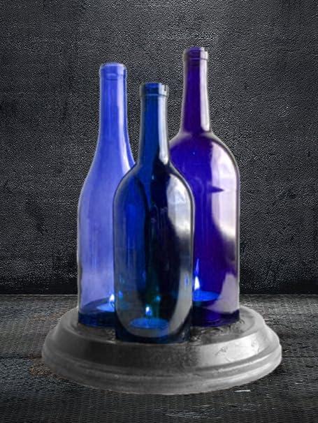 Botella de cristal - Cortador Corte Botellas de Vino U Otras de botellas de cristal para manualidades - Kit completo para cortar cristal: Amazon.es: ...
