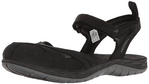 f19e1edbef99 Merrell Siren Wrap Q2 Women 9 Black  Amazon.ca  Shoes   Handbags