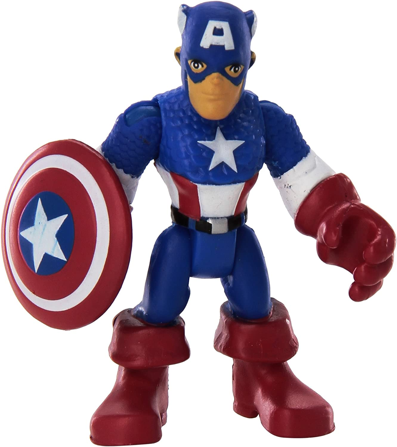 PLAYSKOOL HEROES MARVEL SUPER HERO ADVENTURES CAPTAIN AMERICA /& MARVEL/'S FALCON