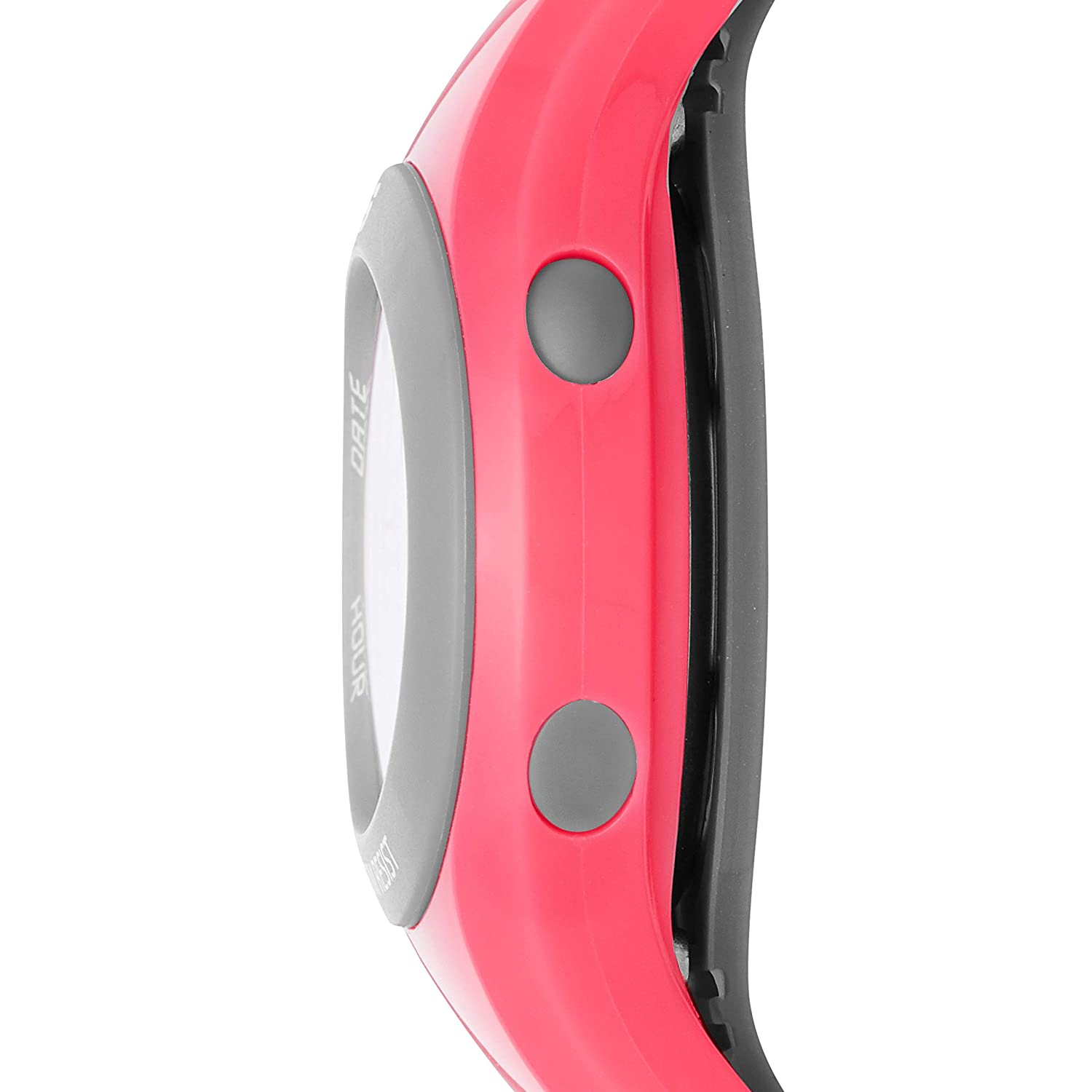 Amazon.com: Skechers Womens Polliwog Quartz Plastic and PU Digital Watch Color: Pink (Model: SR2022): Watches