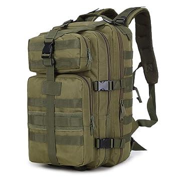 HSQM Mochila táctica militar de 3 P para senderismo, acampada, caza, caza,