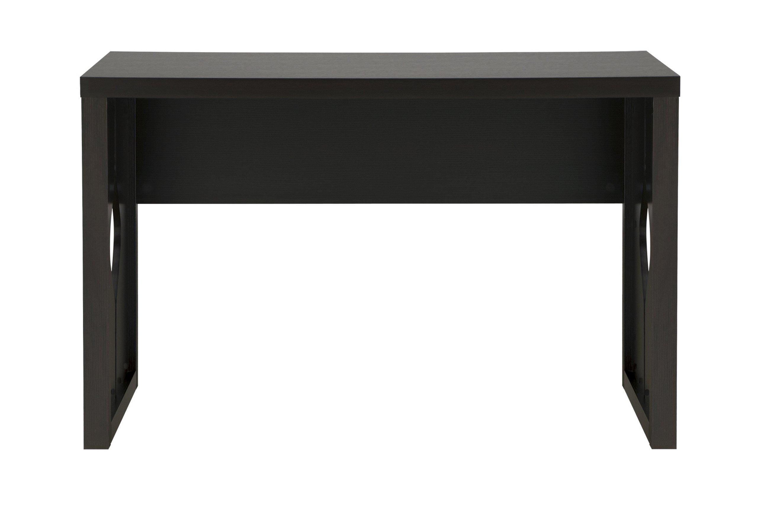 Furniture of America Dimone Cut-Out Home Office Desk