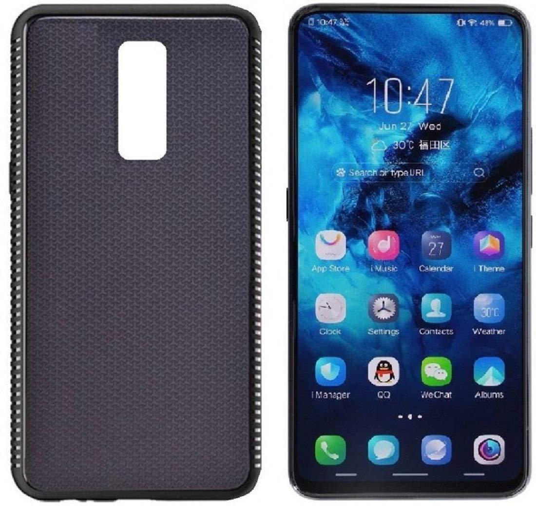 Oppo F11 Pro Plain Black Back Cover: Amazon in: Electronics