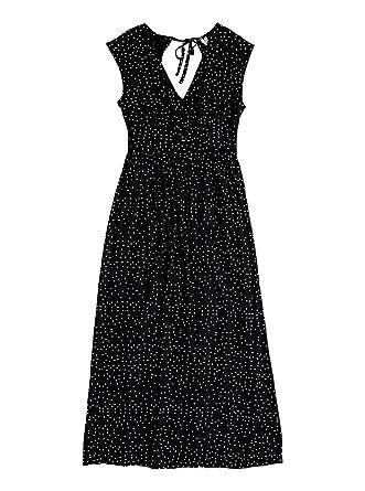 822aa6154c9b Amazon.com  Roxy Womens Retro Poetic True Black Dots for Dress Size  X-Small  Clothing