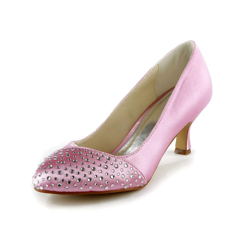 Jia Jia Wedding de 1403112 chaussures B06XBZZHZY de chaussures mariée mariage Escarpins pour femme Rose 276f99e - latesttechnology.space