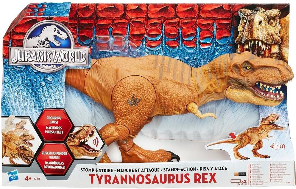 Jurassic World Park T-Rex Garçons Camouflage Chaussons Peluche Taille 9-10 Ou