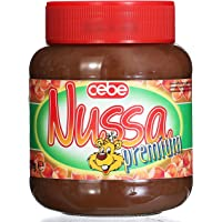 Cebe食宝牌精品巧克力榛子酱400g*2(德国进口)