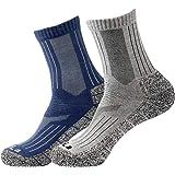 2/3足セット 靴下 メンズ メリノウール パイル 冬用 クルーソックス