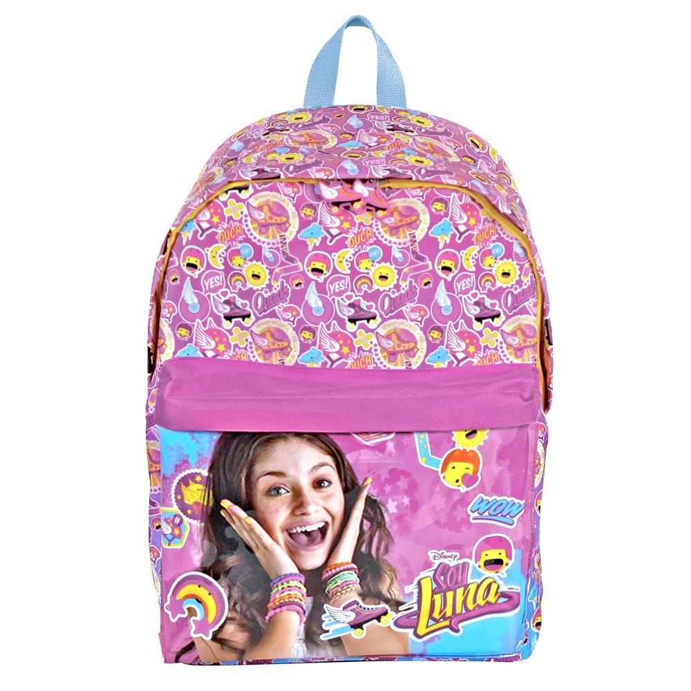 Mochila para niña Disney Soy Luna - Mochila para la Escuela ...