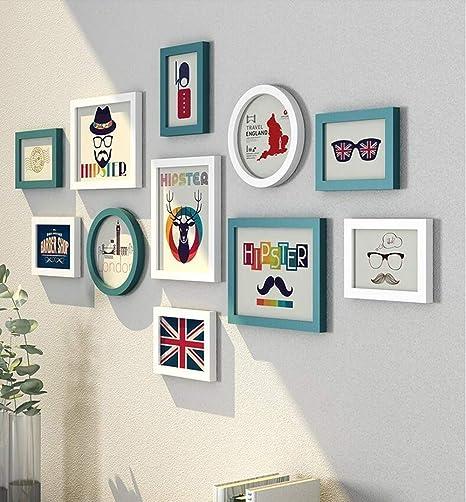 7 inch PVC Picture Photo Frame Creative Cute Rabbit Desktop Wall Hanging Decor