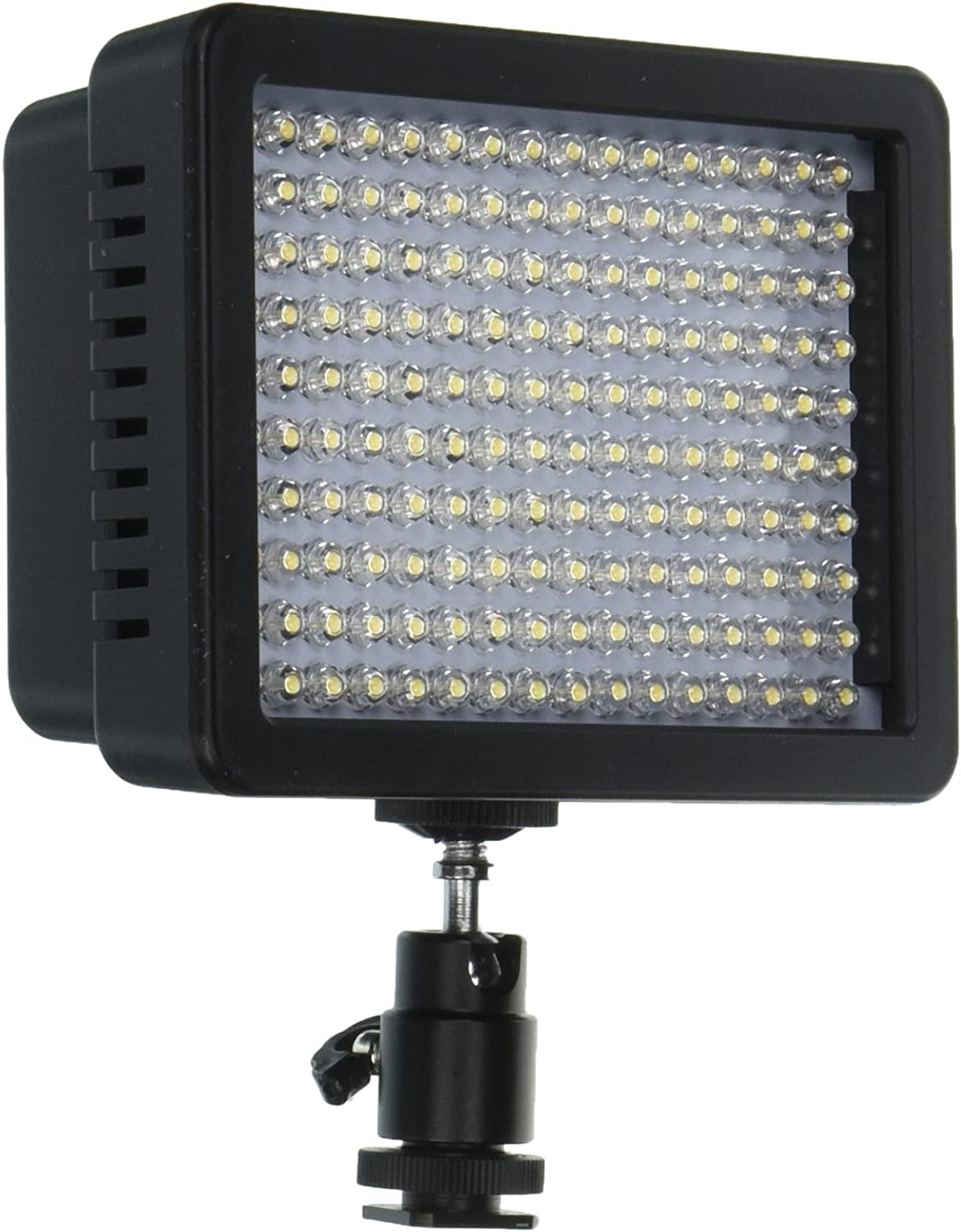 Nikon Olympus Pentax DSLR and Camcorders Bestlight Ultra High Power 160 LED Video Light Panel with Shoe Adapter for Canon
