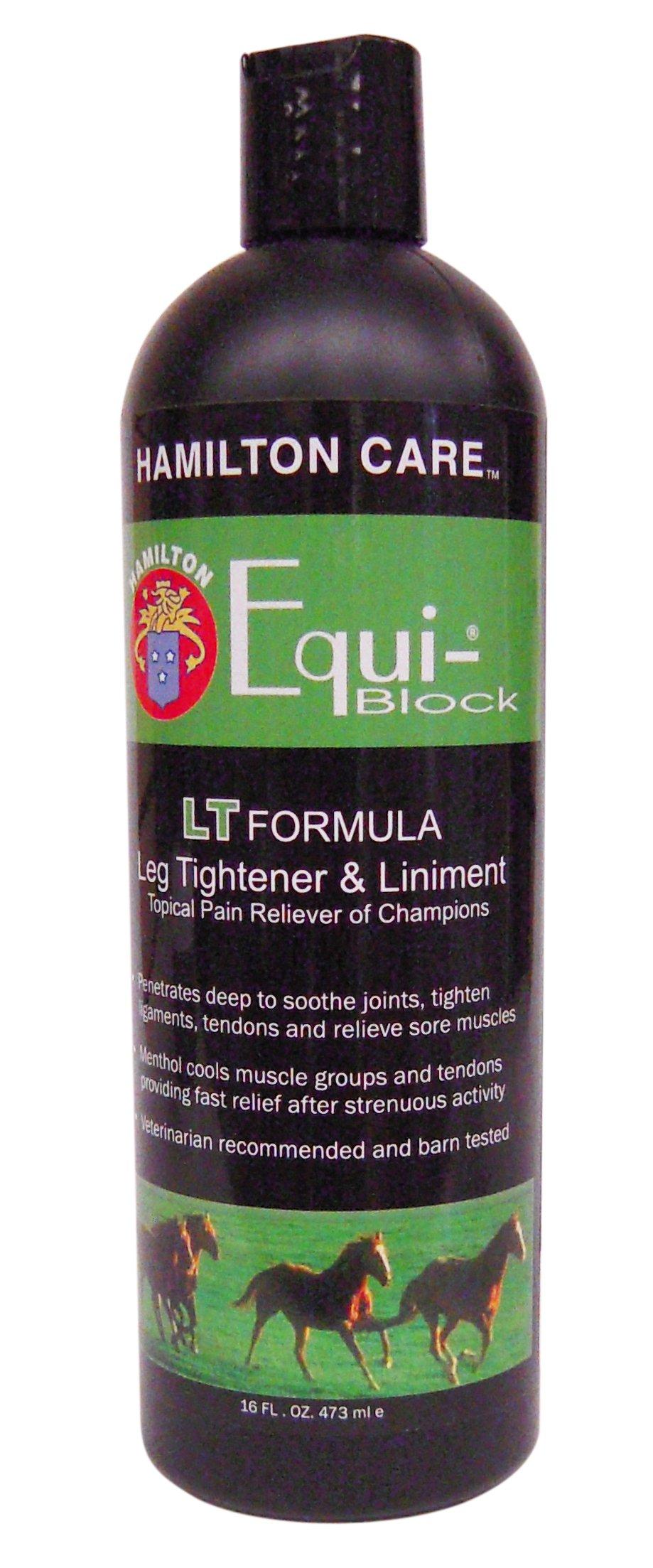 Hamilton Care Equi-Block Horse Leg Tightener & Liniment Light Formula, 16-Ounce by MiracleCorp by Hamilton Care