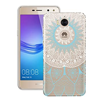 Huawei Y6 2017 Case Silicone Huawei Y5 2017 Soft Back Cover Smartlegend  Transparent Anti-Scratch Ultra Light Slim Soft TPU Protective Case Cover  for