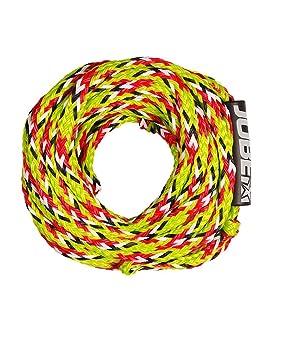 Jobe 4 Personas Towrope Cuerda De Tiro Tubo Cuerda Cuerda Flotante Arrastre Rope: Amazon.es: Deportes y aire libre