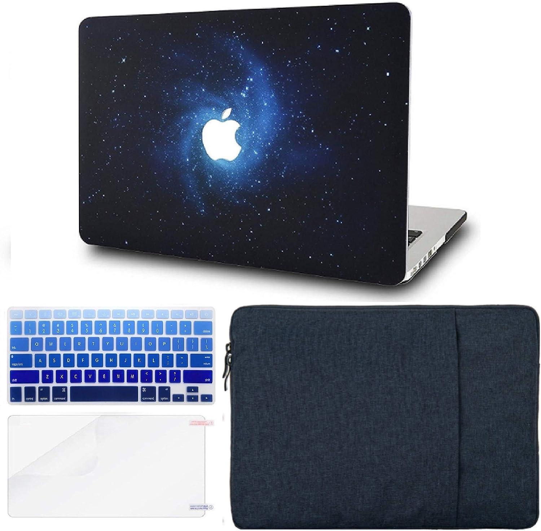 Schutzh/ülle Case w//EU Tastaturschutz 2020//2019//2018//2017//2016, Touch Bar KECC MacBook Pro 13 H/ülle Bildschirm Schutz Pro 13.3 Hulle {A2159//A1989//A1706//A1708} Tasche Blau
