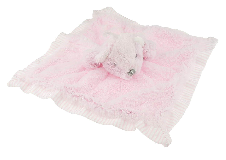 Super suave para bebé niñas niños Minky rayas colcha oso Dou ...