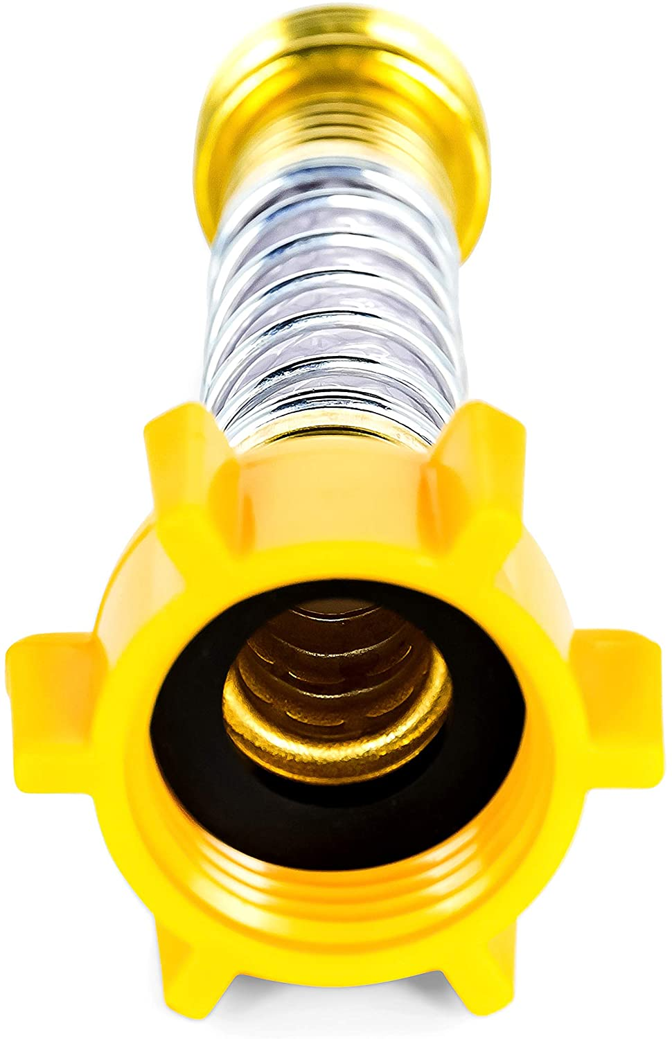 RV water garden flexible drinking hose protector spring fitting  CAMCO 22703
