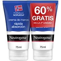 Neutrogena Handcrème, direct intrekkend, 2 stuks x 75 ml