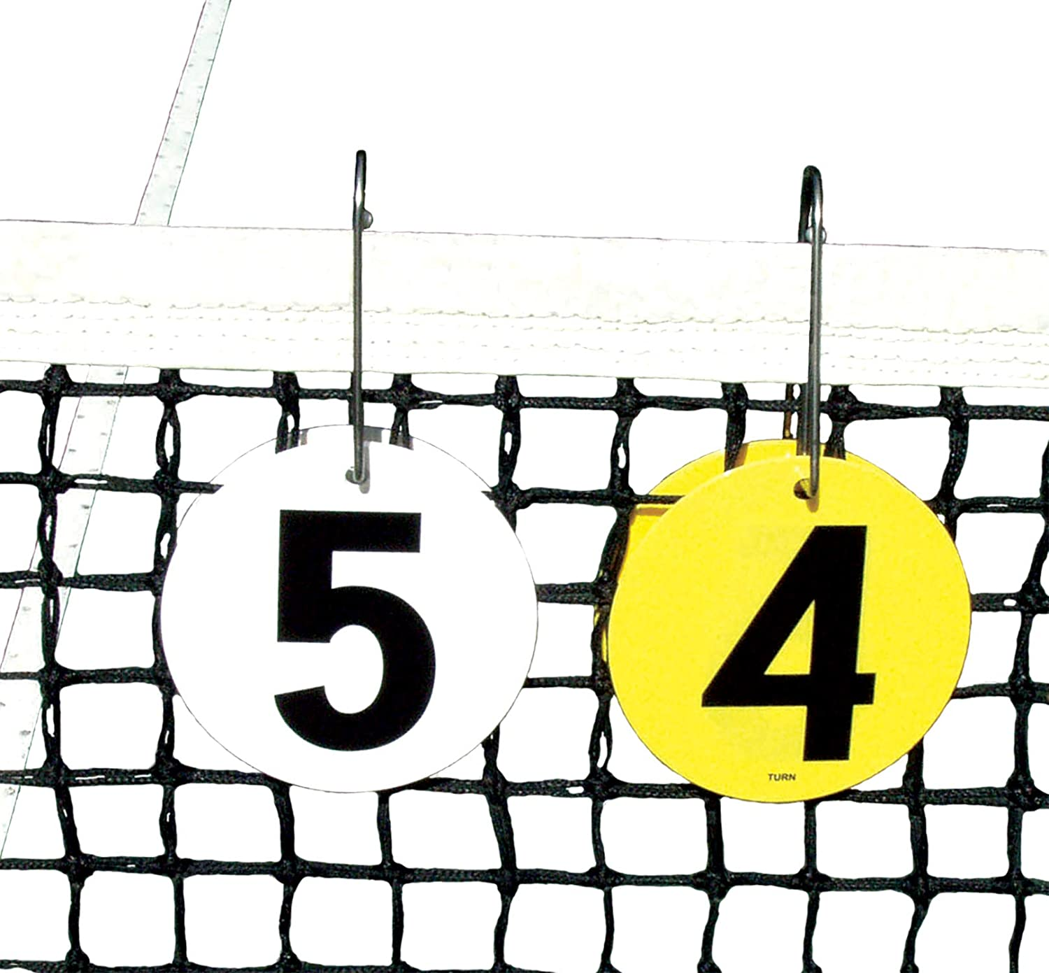 Tourna Portable Tennis Score Keeper, Fits Over Net : Sports & Outdoors