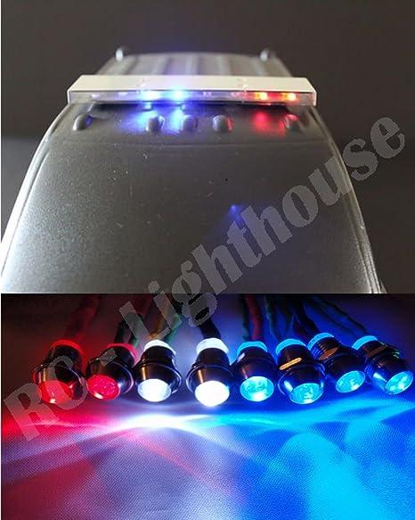 Amazon Com Pl 5 Realistic Police Led Light Set And Light