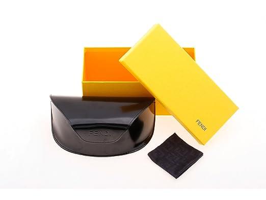 06ed577af01 Amazon.com  Fendi Wraparound Sunglasses 388 001 66 14 110  Black ...