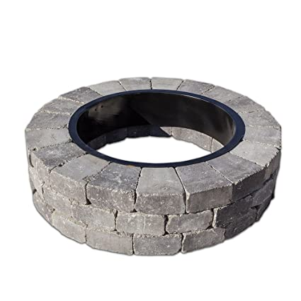 Image Unavailable - Amazon.com : Necessories Grand Fire Pit Kit In Bluestone : Garden