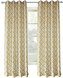 Amazon Giveaway Clacoco Yellow Curtain for Living Room