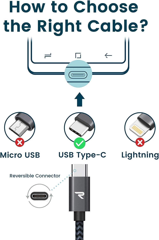 5Pack 0.25M 0.5M 1M 2M 3M Cable Lightning Carga R/ápida Nylon Trenzado Compatible con Apple iPhone 11 XS MAX XR X 8 Plus 7 Plus 6S 6 Plus 5 5S 5C SE iPad iPod GIANAC Cable Cargador iPhone